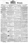 The front page of the London Times for December 4, 1788.