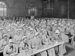 Mealtime at St Pancras Workhouse, London